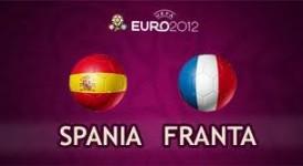 Sferturi EURO 2012  Spania - Franta