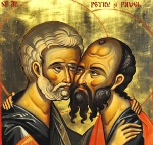 29 iunie - Sărbătoarea Sfinţilor Apostoli Petru şi Pavel