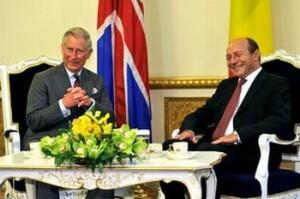 Băsescu, gafă de diamant în faţa Prinţului Charles