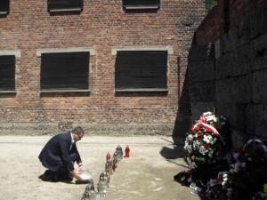 Victor Ponta Auschwitz-Birkenau