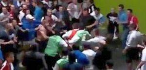 Euro 2012: UEFA acuză Rusia din cauza violenţei suporterilor