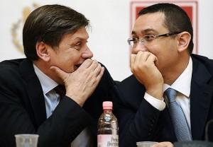 Ponta şi Antonescu (foto Agerpres)