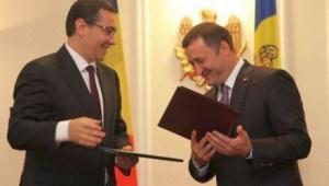Chişinău. Ponta, la Filat - securitatea energetică, educaţie şi justiţie