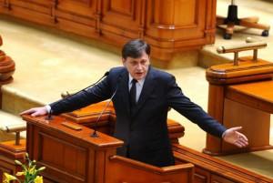 Crin Antonescu presedintele Senatului