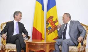 Romania-Moldova  -  Leanca-Marga