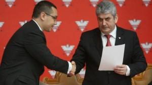 Victor Ponta si Gabi Oprea