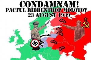 23 august 1939 - Pactul Ribbentrop-Molotov