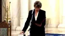 Mona Pivniceru a despus juramantul la Cotroceni