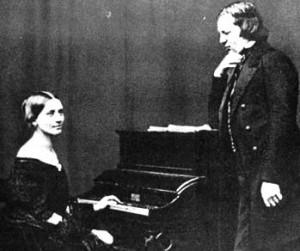 Clara Schumann si Robert Schumann