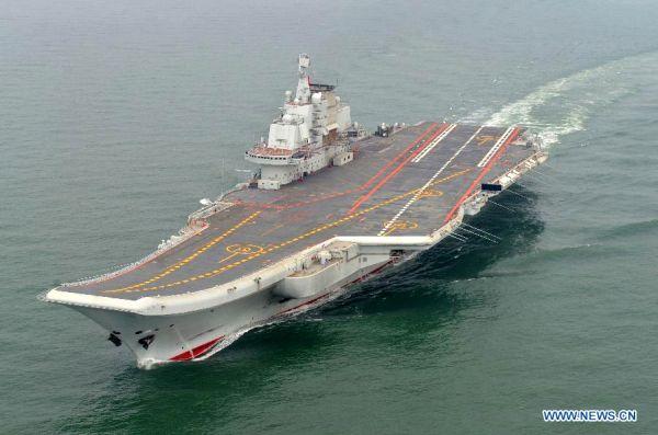 China. Portavionul Liaoning, integrat oficial în serviciul activ
