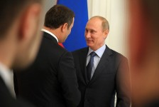 Vladimir Putin si Vlad Filat la Soci