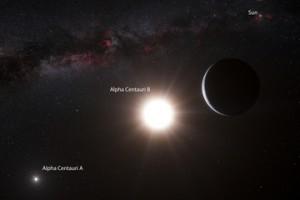 Exoplanetă de dimensiunea Terrei în sistemul Alpha Centauri B