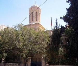 Biserica românească din Ierusalim, atacată