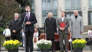Emil Constantinescu la Hramul Chisinaului