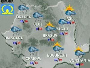 METEO: Vremea se încălzeşte joi şi vineri