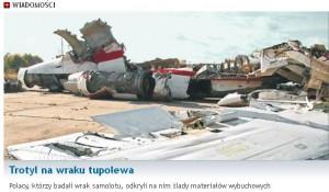 """""""Accidentul"""" de la Smolensk. Bombă la bordul avionului lui Kaczynski?"""