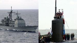 Submarinul nuclear USS Montpelier, coliziune cu crucişătorul USS San Jacinto