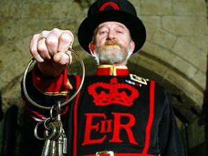 Au fost furate cheile de la Turnul Londrei
