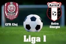 Liga I, etapa 16: CFR Cluj - Astra Giurgiu