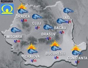 Cum va fi vremea? Meteo sambata si duminica