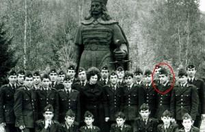 Danicu Tanasa elev la Liceul Militar