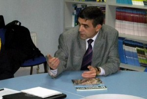 Danicu Tanasa la centrul NATO de la Chisinau