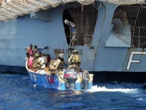 """Fregata """"Regele Ferdinand"""" a capturat nouă piraţi"""