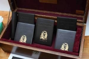 Manuscrisele Cantemir. 25 de volume donate de Ambasada Rusiei