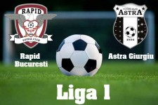 Liga I, etapa 14: Rapid - Astra, scor 0-2 (video)