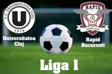 Liga I, etapa 15: U Cluj - Rapid