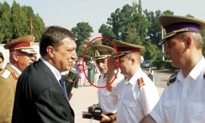 Lt col Danicu Tanasa 2005 UNAp