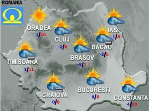 Meteo: Ce ne mai pregăteşte vremea joi şi vineri