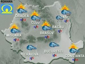 Meteo: Cum va fi vremea joi şi vineri