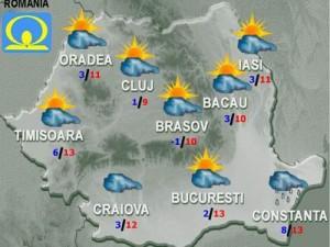 Meteo - Vremea sambata si duminica