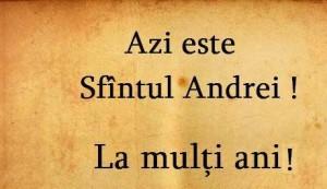 692.902 de cetăţeni români poartă numele Sfântului Apostol Andrei