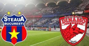 Steaua - Dinamo, etapa 14 in Liga I la fotbal