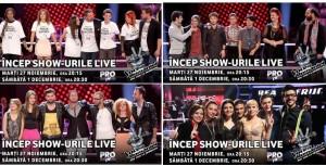 Vocea Romaniei - 27 noiembrie - Editiile live