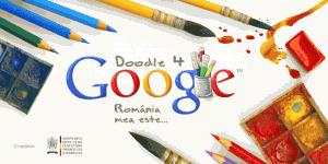 Concurs Doodle for Google  pentru Ziua Romaniei