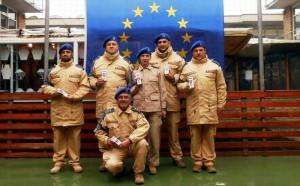 Afganistan. 6 poliţişti români au primit Medalia de Serviciu EUPOL