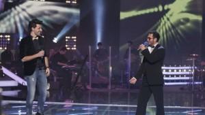 Ciprian Teodorescu si Iulian Canaf pe scena Vocea Romaniei