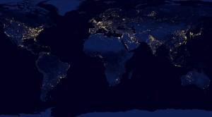 Imagini spectaculoase. Cât de strălucitor este Pământul noaptea