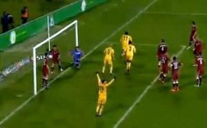 Liga I etapa a 18-a FC Vaslui - Rapid 1-0 (Video)