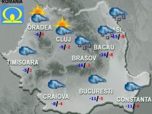 Meteo: Cum va fi vremea în weekend, înainte de Crăciun