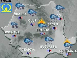 Meteo: Cum va fi vremea miercuri şi joi