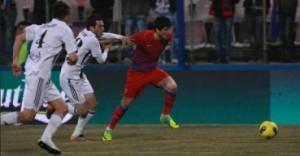 Steaua Astra, scor 2-0