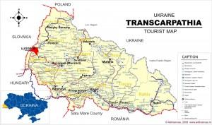 Limba română, statut special în Transcarpatia (Ucraina)