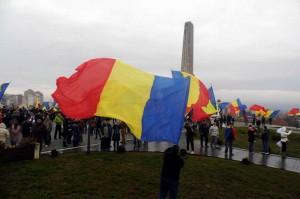 Ziua Naţională. La Alba Iulia s-a scandat Unirea cu Basarabia