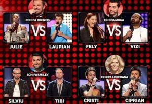 Semifinala Vocea Romaniei 14 decembrie: Vor ramane 4 concurenti