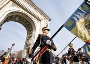 1 Decembrie Ziua Naţională. Parada militară de la Arcul de Triumf