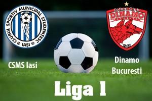 Liga I, etapa 19: CSM Iaşi - Dinamo, scor 1-1